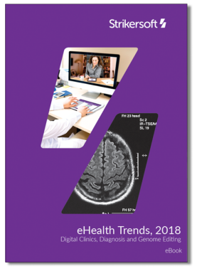 eBook Trends in eHealth 2018 1st page